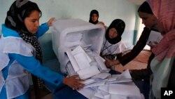 نتایج انتخابات ریاست جمهوری نیز با تاخیر اعلام شد