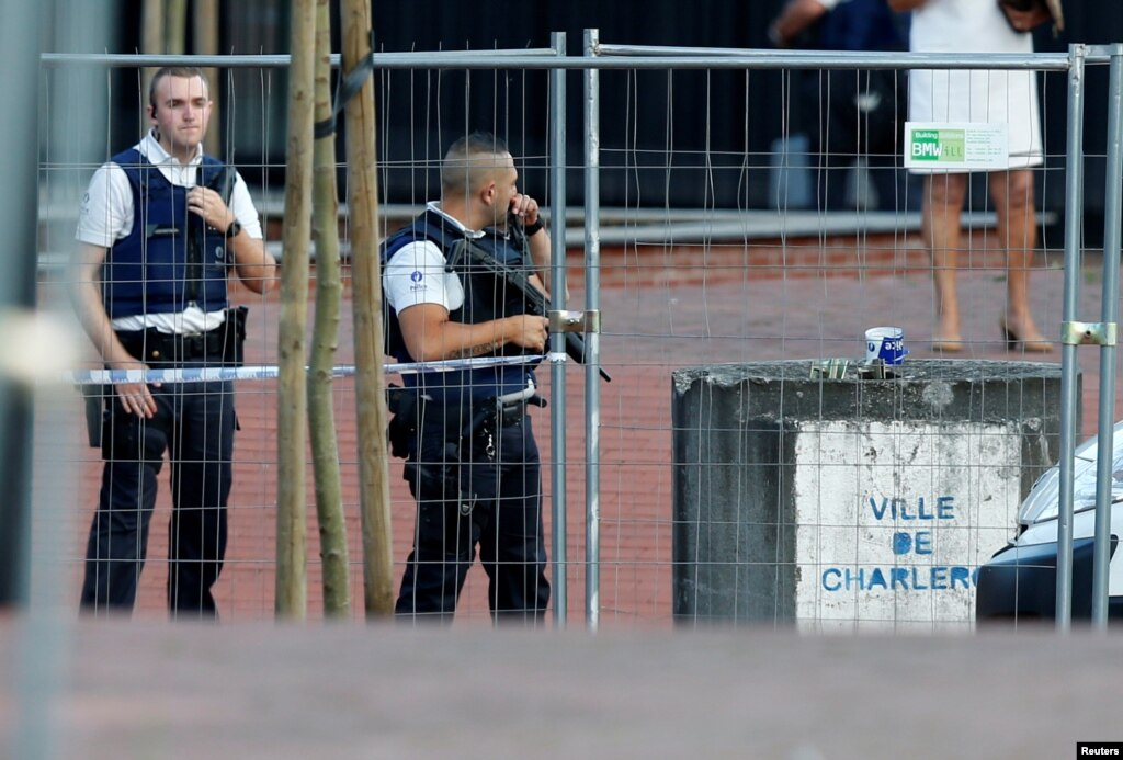ISIS group claims Saturday's Belgium machete attack: Amaq agency