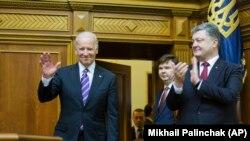 Biden in the Ukraine