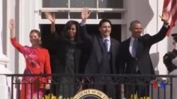 奧巴馬歡迎加拿大總理來訪