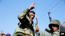 د بشارالاسد د رژیم عسکر په ختیځه الغوطه کې د یاغیانو خلاف پرمختگ کړیدی؛ د مارچ ٧ مه ٢٠١٨ م کال