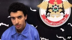 Hashim Ramadan Abedi, adik tersangka pembom bunuh diri Salman Abedi – ditangkap di Tripoli hari Selasa (23/5).