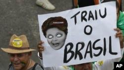 Manifestation au Brésil.