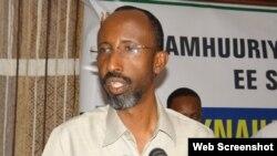 Faarax Cabdiqaadir, Wasiirkii hore ee Cadaaladda iyo Dastuurka