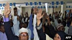 Somali'de Hükümete Güven Oyu