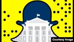 白宫开通视频分享软件Snapchat(阅后即焚)账号