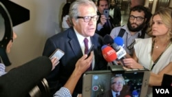 Luis Almagro ante la Comisión de Relaciones exteriores del Senado de EE.UU.