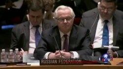 乌克兰临时总理在联合国与俄大使当面交锋