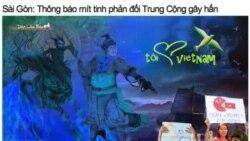 Người Việt kêu gọi tiếp tục biểu tình chống TQ
