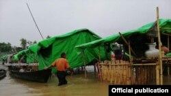 စင္းေဘာ္ကိုင္းစခန္း (သတင္းဓာတ္ပံု - Khine Murn Chun (Mrauk U))