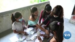 Venezuelan Teenagers Provide Useful Information Along with a Free Lunch