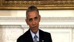 奧巴馬:政治方式解決敘利亞危機有利於俄羅斯