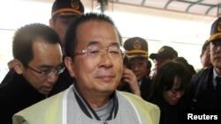 Cựu Tổng Thống Trần Thủy Biển hiện đang thọ án tù 20 năm vì tội tham nhũng.