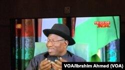 ZABEN2015: Shugaban Jonathan Ya Tattaunawa da 'Yan Jarida, Fabrairu 11, 2015