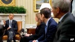 El presidente Obama advirtió que vetaría una ley como la que propone la Cámara de Representantes para combatir el Zika.