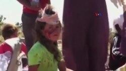 İŞİD qızları zorladıqdan sonra satır