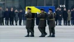 被伊朗導彈擊落致命的烏克蘭死者遺體已運抵基輔