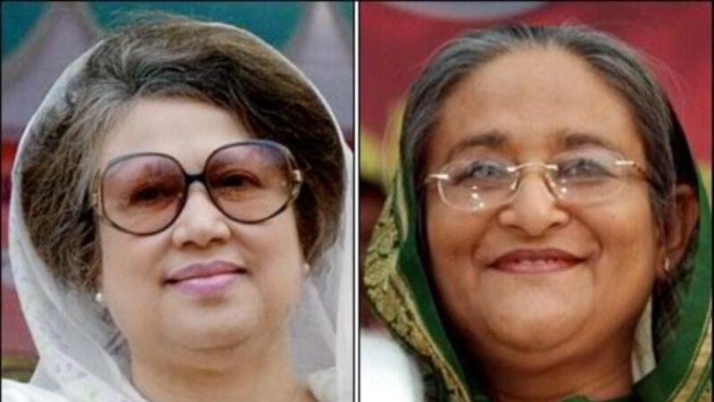 """جان کري د بنگله دیش """"سیالو بیگمو"""" سره وکتل"""