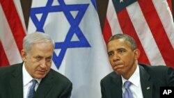 کۆبوونهوهی سهرۆک باراک ئۆباما لهگهڵ سهرۆک وهزیری ئیسرائیل بنیامین نهتهنیاهۆ له بارهگای نهتهوه یهکگرتووهکان له نیویۆرک، 21 ی مانگی نۆی 2011