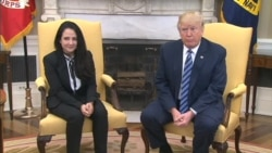 Trump Meets Released Egyptian American Prisoner