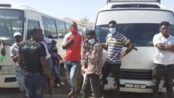Transportadores em greve no Namibe – 1:24