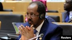 Belum diketahui keberadaan Presiden Somalia Hassan Sheikh Mohamud setelah serangan al-Shabab (foto: dok).
