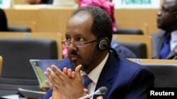 Shugaban Somali Hassan Sheikh Mohamud.
