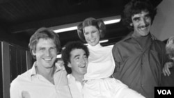 费雪与哈里森.福特等演员1978年拍摄电视特辑
