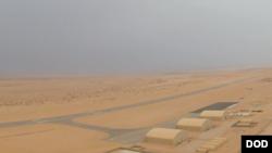 서아프리카 국가 니제르 아가데즈의 미 공군기지.