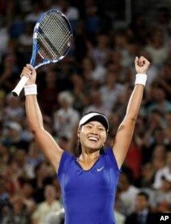 李娜是第一位闖入網球大滿貫賽事決賽的中國單打選手