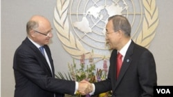 """Ban Ki-Moon reiteró sus """"buenos oficios para resolver esta disputa"""" y afirmó que permanece """"disponible si ambos países lo requieren""""."""
