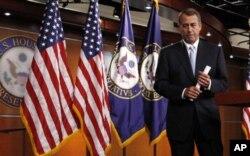 John Boehner, président de la Chambre