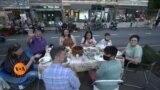 نیویارک کا اوپن اسٹریٹس پروگرام: اب کھانا کھائیں سڑک کے درمیان