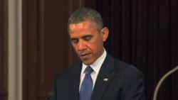 President Obama Offers Solace and Defiance To Mourners in Boston