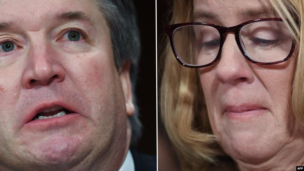 Thẩm phán Kavanaugh và tiến sĩ Ford.