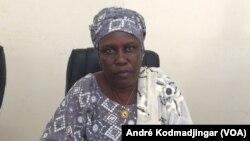 Mme Safia Ouangbi, préfet du département de Mayo Bonney, Bongor au Tchad, le 18 septembre 2017. (VOA/André Kodmadjingar)