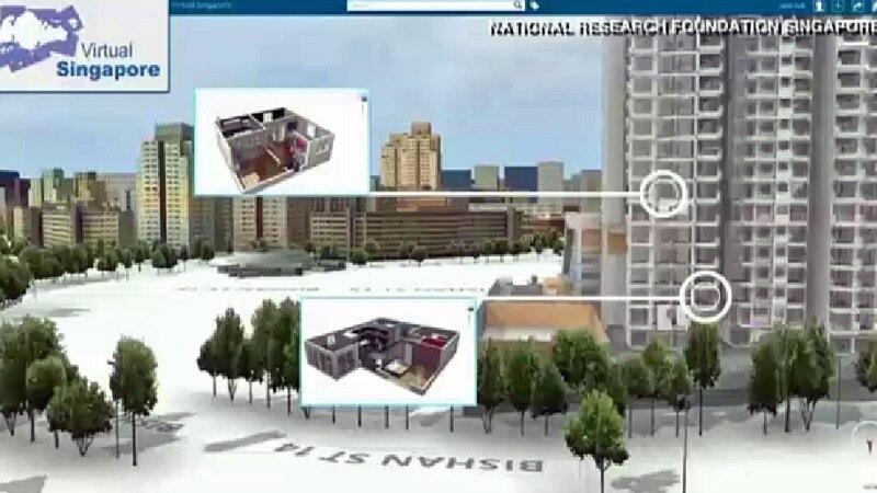 Trodimenzionalna mapa - pogled u budućnost gradova