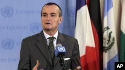 Đặc sứ Pháp tại Liên Hiệp Quốc Gerard Araud.