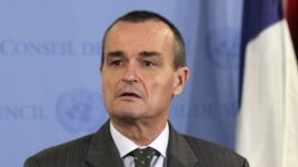 L'ambassadeur de France à l'ONU, Gérard Araud
