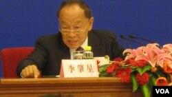 前中国外长李肇星