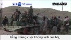 Người Kurd khởi chiến giành lại thành phố với IS (VOA60)