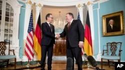 دیدار وزرای خارجه آمریکا و آلمان در واشنگتن