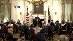 Pidato Pertama Trump ke Kongres Diselingi Desakan Investigasi Independen Rusia
