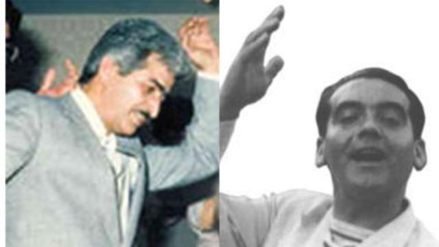 فدریکو گارسیا لورکا شاعر آزادیخواه اسپانیا و سعید سلطانپور شاعر آزادیخواه ایرانی که هر دو به جرم شیفتگی به آزادی تیرباران شدند
