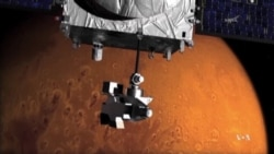 NASA's MAVEN Probe Enters Mars Orbit