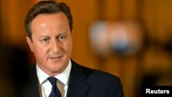 Firayim Ministan Birtaniya David Cameron