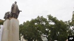 U Pragu ponovno otkriven spomenik Woodrowu Wilsonu