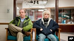 "Paul Giamatti and Alex Shaffer in ""Win Win"""