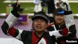 چین توانست اولین مدال آور طلا در بازیهای المپیک 2012 باشد.