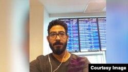Ông Hassan al-Kontar, một người đàn ông Syria từng sống vất vưởng suốt 7 tháng trong một sân bay quốc tế ở Malaysia.
